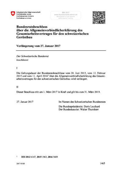 GAV AVE Verlängerung Geruestbau AVE 2017-2019 deutsch